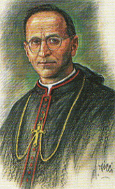 Blessed Anselm Polanco by Dante Ricci.